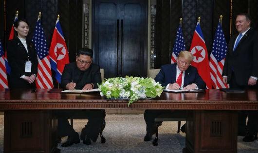 Ông Kim Jong Un cam kết phi hạt nhân hóa hoàn toàn bán đảo Triều Tiên