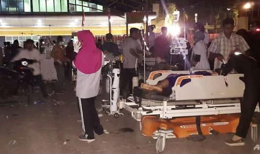 Động đất 6,9 độ Richter ở Indonesia: 82 người thiệt mạng