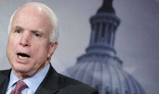 Thượng nghị sĩ John McCain dừng điều trị ung thư não