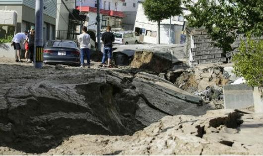 Động đất ở Nhật, ít nhất 9 người thiệt mạng