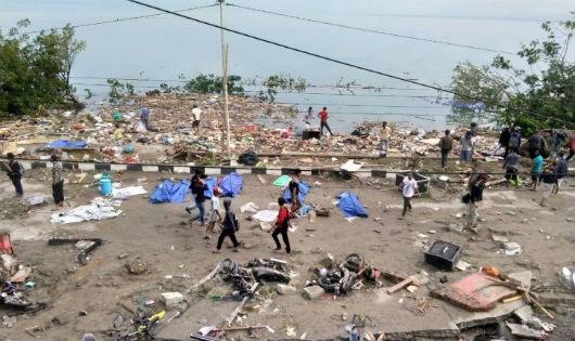Đã có ít nhất 30 người thiệt mạng vì động đất tại Indonesia