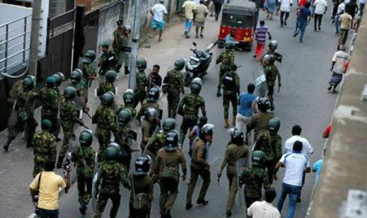 Đã có đổ máu trong khủng hoảng chính trị tại Sri Lanka