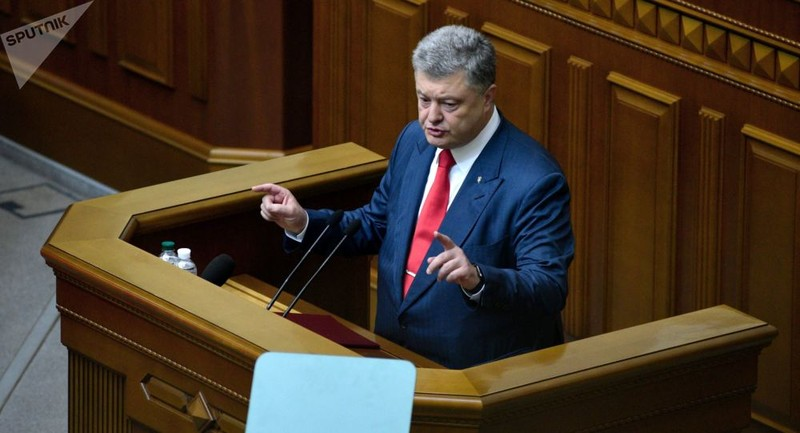 Tổng thống Ukraine trình luật đề nghị phá bỏ hiệp ước hữu nghị với Nga