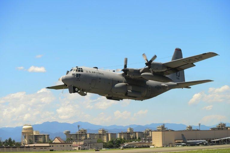 Hai máy bay quân sự Mỹ rơi trên biển, 6 binh sỹ mất tích