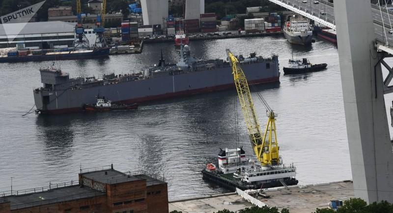 """Hạm đội Thái Bình Dương Nga nhận tàu hộ tống có tên lửa khiến Tomahawk """"chào thua"""""""