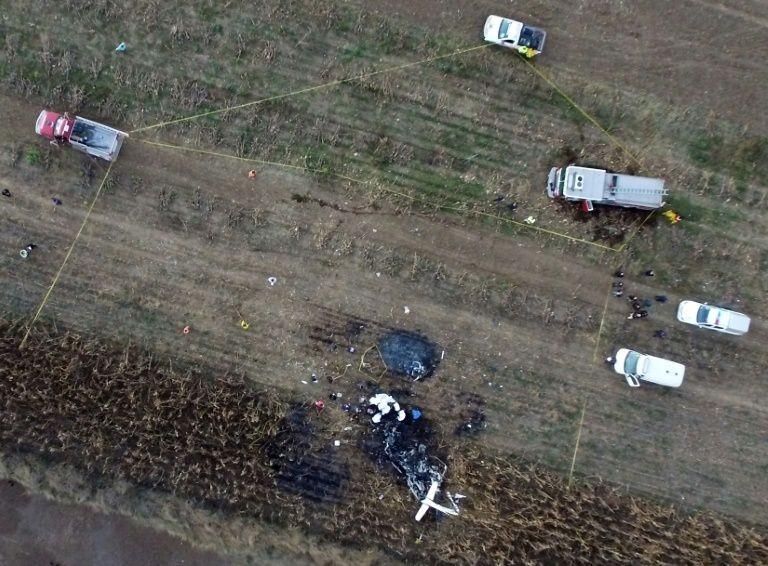 Nhậm chức chưa được 10 ngày, vợ chồng thống đốc Mexico tử nạn vì rơi máy bay