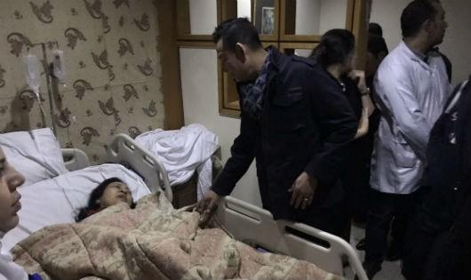 Đại sứ Việt Nam tại Ai Cập đến hiện trường vụ xe chở khách Việt bị đánh bom tại Ai Cập