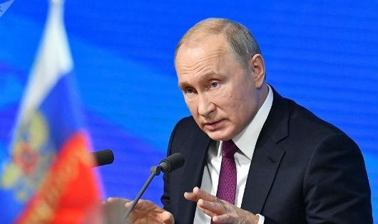 """""""Lộ"""" kế hoạch đón năm mới của Tổng thống Nga Putin"""