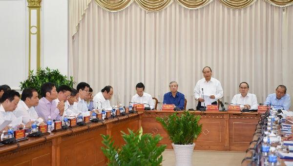 Thủ tướng: TP HCM cần tập trung xử lý các vấn đề bức xúc của người dân
