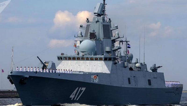Nga hoàn tất thử nghiệm hệ thống tên lửa phòng không cho tàu khu trục mới nhất