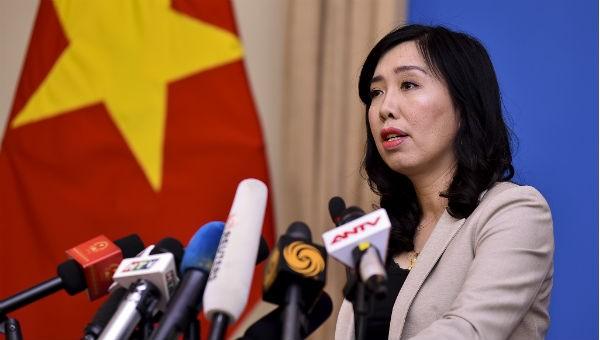 Bộ Ngoại giao lên tiếng về việc tàu Mỹ đi qua quần đảo Trường Sa của Việt Nam