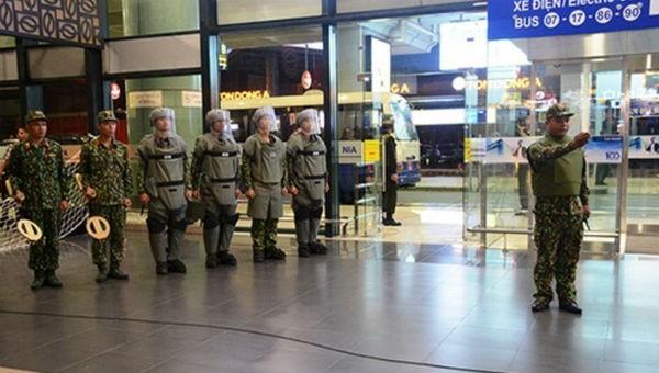 Sân bay Nội Bài thắt chặt an ninh dịp thượng đỉnh Mỹ - Triều