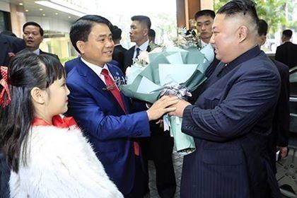 Đoàn xe ông Kim Jong Un về tới khách sạn Melia