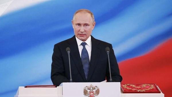 Tổng thống Nga Putin nêu quyết tâm ngăn chặn khủng bố