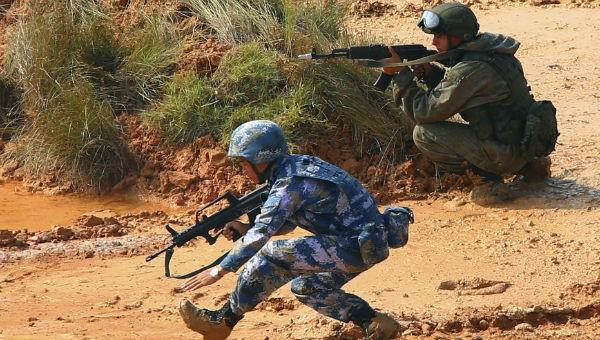 Nga - Trung sắp tập trận hải quân chung