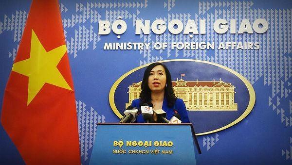 Việt Nam trao công hàm phản đối các hành động của Trung Quốc ở Hoàng Sa