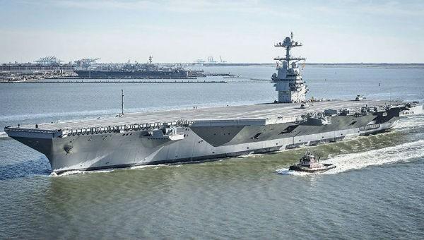 Siêu tàu sân bay Mỹ chậm bàn giao so với kế hoạch
