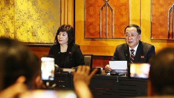 Nữ thứ trưởng Triều Tiên bất ngờ lên tiếng chỉ trích cố vấn an ninh quốc gia Mỹ