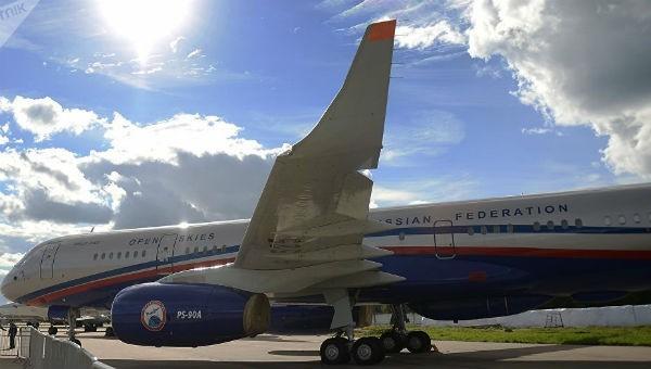 Máy bay do thám Nga bay quan sát trên lãnh thổ Mỹ 1 tuần