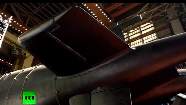 """Nga công bố video hạ thủy tàu ngầm mang 6 siêu ngư lôi """"đánh bay cả nhóm tàu sân bay"""""""
