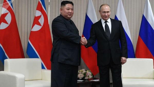 Tổng thống Nga Putin và Chủ tịch Triều Tiên họp kín gần 2 giờ