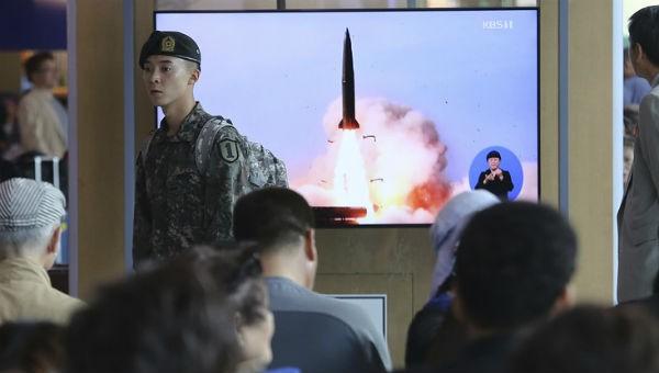 Mỹ nói Triều Tiên thử tên lửa sau khi Chủ tịch Kim gặp Tổng thống Putin, Nga phản ứng