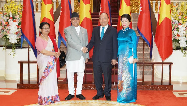 Chuyến thăm lịch sử của Thủ tướng Nepal tới Việt Nam