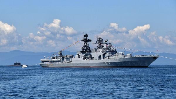 Tàu chiến Nga, Mỹ suýt đâm nhau trên biển