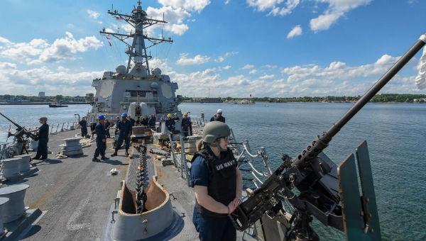 NATO tập trận, Nga điều Hạm đội Baltic theo sát