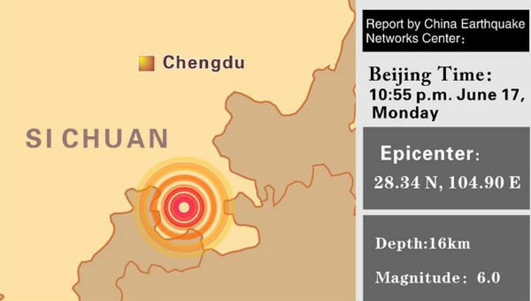 130 người thương vong vì động đất tại Trung Quốc