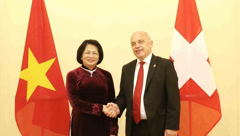 Việt Nam – Thụy Sỹ mong Hiệp định Thương mại tự do EFTA sớm được ký kết