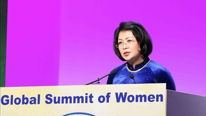 Phụ nữ Việt Nam có thứ hạng cao về chỉ số cơ hội và tham gia phát triển kinh tế