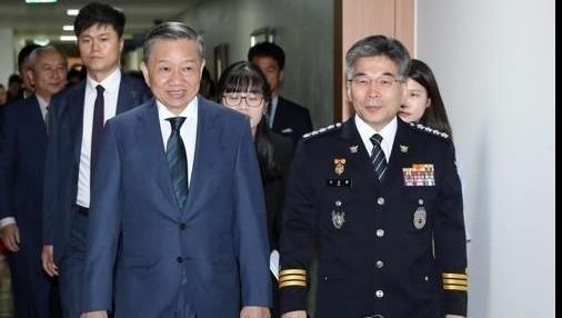 Cảnh sát trưởng Hàn Quốc hứa với Bộ trưởng Tô Lâm điều tra thấu đáo vụ cô dâu Việt bị chồng đánh