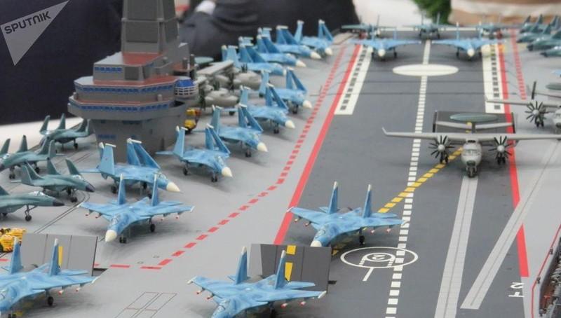 Nga công bố dự án đóng tàu sân bay 'khủng'