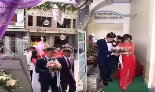 Cô dâu 61 tuổi 'trần tình' khi có người 'làm loạn' đám cưới
