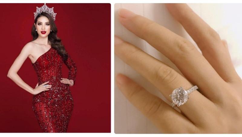Ngày Valentine Phạm Hương công bố đính hôn, hé lộ ảnh chồng sắp cưới