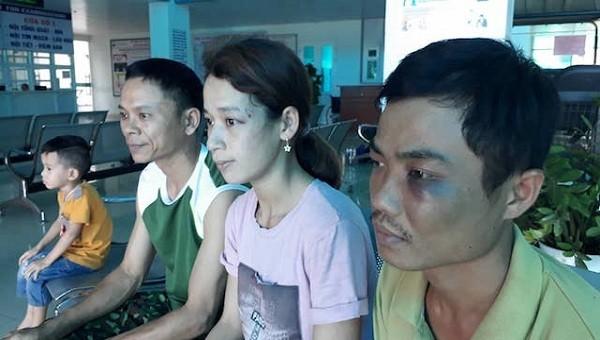 Nghi án cặp vợ chồng bị nhóm người đòi nợ thuê đánh rồi bắt quỳ giữa nắng