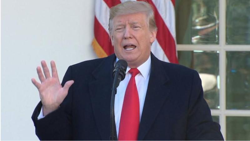 Tổng thống Trump tuyên bố tạm thời mở cửa chính phủ Mỹ