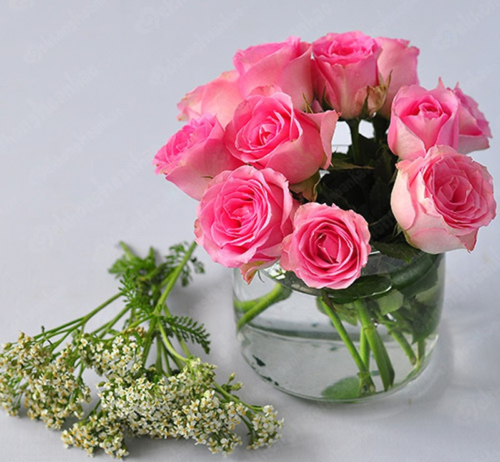 Kết quả hình ảnh cho cách cắm hoa hồng phòng ngủ