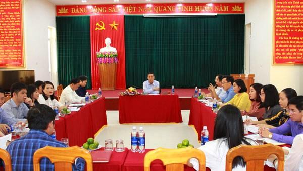 Sở Tư pháp Quảng Bình 'điểm tựa' vững chắc trong công tác tham mưu