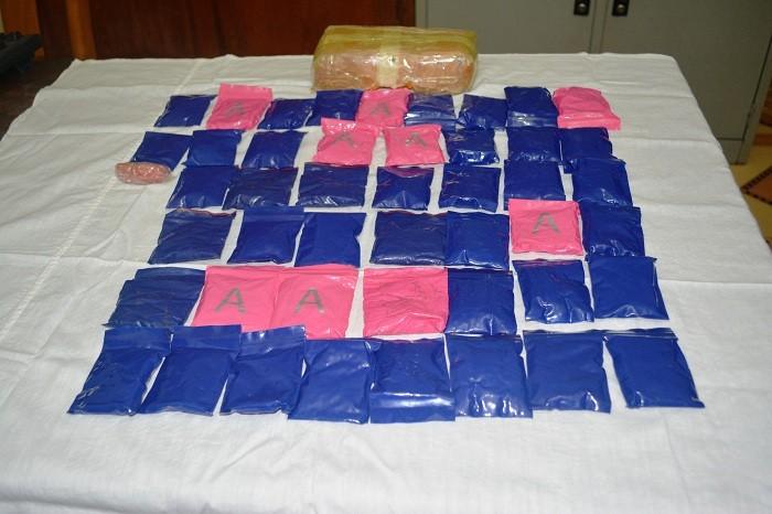 100 chiến sỹ và chó nghiệp vụ truy bắt đối tượng bỏ lại bọc chứa gần 9.000 viên ma túy - Ảnh 2
