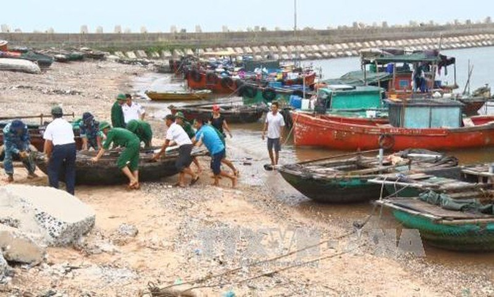 Quảng Ninh - Nam Định cấp tập ứng phó bão số 2