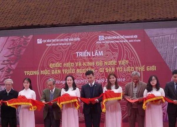 Triển lãm 'Quốc hiệu và Kinh đô nước Việt trong Mộc bản Triều Nguyễn - Di sản tư liệu thế giới'