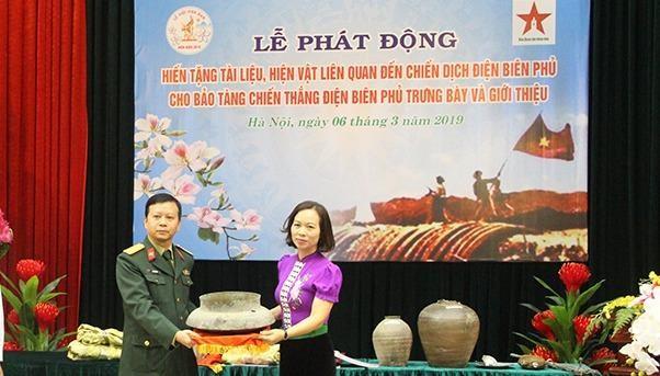Phát động hiến tặng tài liệu, hiện vật liên quan đến Chiến dịch Điện Biên Phủ