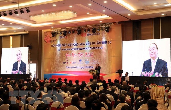 500 doanh nghiệp tham dự hội nghị nhà đầu tư xuân Kỷ Hợi tại Nghệ An