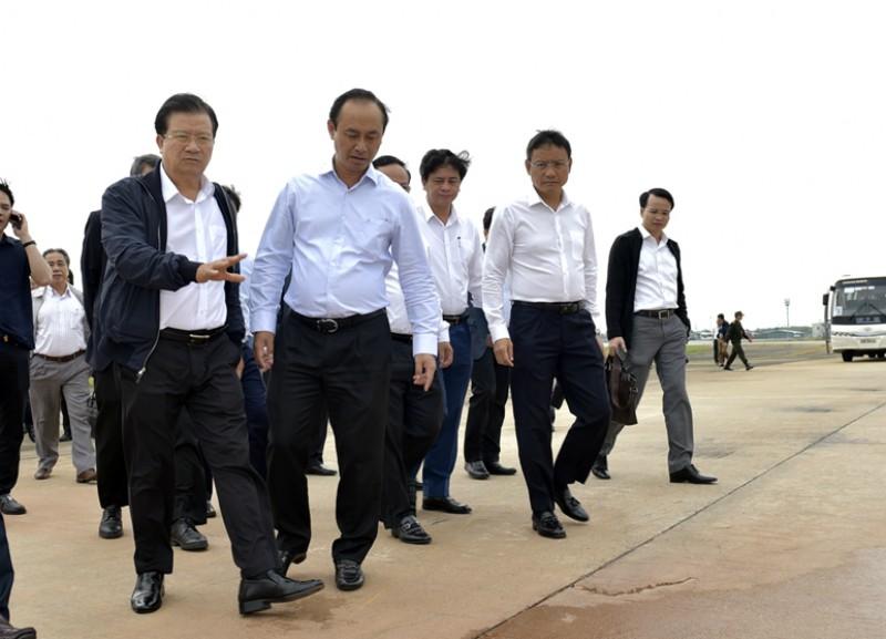 Mở rộng sân bay Nội Bài về phía Nam