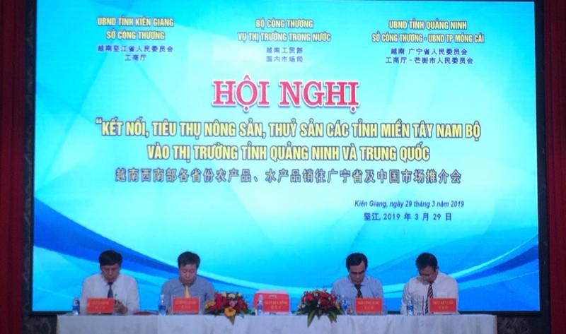 Kết nối tiêu thụ nông sản, thủy sản miền Tây Nam bộ với thị trường Quảng Ninh và Trung Quốc