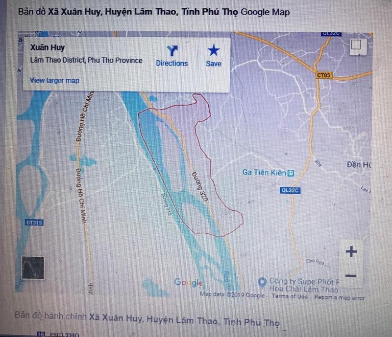 Phú Thọ: Lấy đất của dân bán mà không thông báo, không bồi thường?