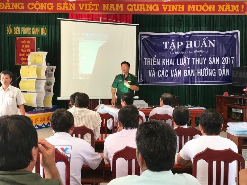Bạc Liêu: Tập huấn triển khai Luật Thủy sản 2017