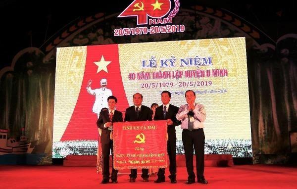 Long trọng kỷ niêm 40 năm ngày thành lập huyện U Minh